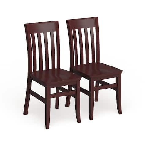 Copper Grove Glencairn Wood Dining Chairs (Set of 2)
