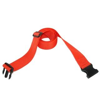 CTM® Solid Travel Luggage Straps (Option: Orange)