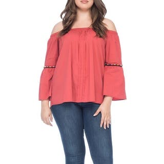 941195cdee2 Bobeau Bethie Plus Size Tunic With Beaded Detail. Quick View