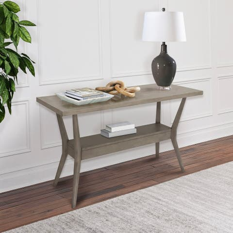 Abbyson Elm Wood Console Table