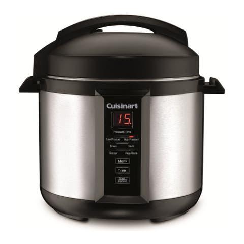 Cuisinart CPC-400 4-Quart Pressure Cooker (Silver)