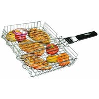 Broil King 65070 Grill Basket With Detachable Handle, Stainless Steel