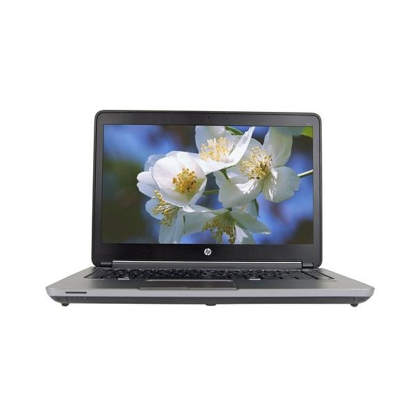 "HP ProBook 640 G1 Intel Core i5-4300M 2.6GHz 8GB RAM 480GB SSD DVD-RW 14"" Win 10 Pro Laptop (Refurbished)"