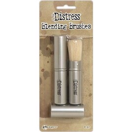 - Tim Holtz Distress Retractable Blending Brush 2/Pkg