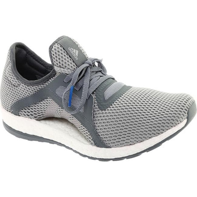 1a8a539bbad Shop adidas Women s Pureboost X Trainer Vista Grey Silver Metallic Mid Grey  - Free Shipping Today - Overstock - 15378379