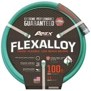 """Apex 9550-100 Flexalloy Garden Hose, 3/4"""" x 100'"""