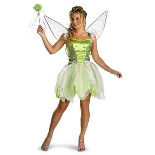 Disney Deluxe Tinker Bell Adult Halloween Costume