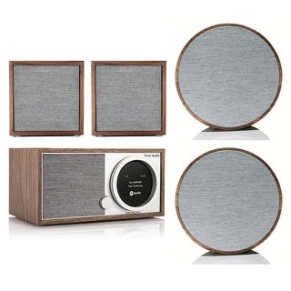 Tivoli Audio Model One Digital Music System w/ CUBE & ART Speaker Pairs (Option: Brown)