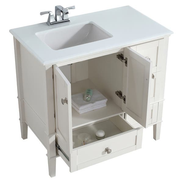 Wyndenhall Windham 36 Inch Contemporary Bath Vanity With White Engineered Quartz Marble Top On Sale Overstock 9959935 Smoke Grey