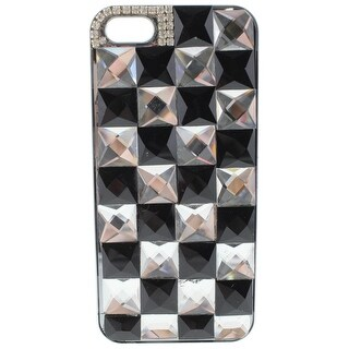 Greene + Gray Womens Bling Check Cell Phone Case Rhinestone iPhone 5