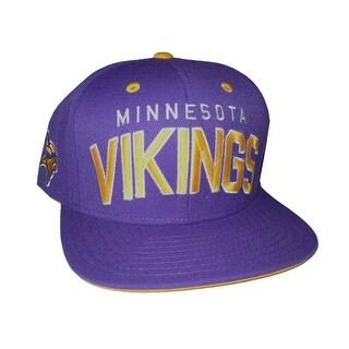 Reebok Minnesota Vikings Purple Snapback Adjustable Hat