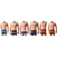 Men's Nylon Stretchable Boxer Seamless Boxer Briefs Underwear, Phantom One Size
