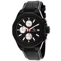 Roberto Bianci Men's Fratelli RB0132 Black Dial Watch