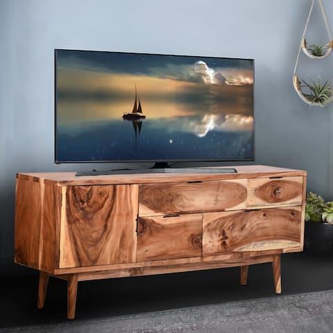 Bononia Live Edge Suar Wood Buffet with 1 door/4 drawers