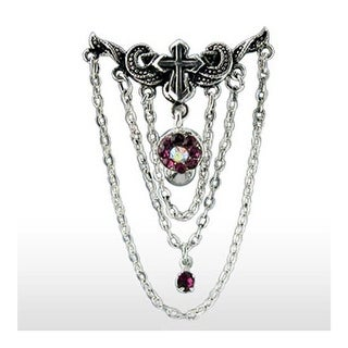 Navel Belly Button Ring with Top-Down Chandelier Line