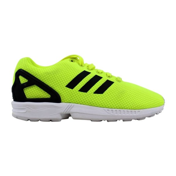 9330b37a9a8a7 Shop Adidas ZX Flux Electric Yellow White M22508 Men s - Free ...