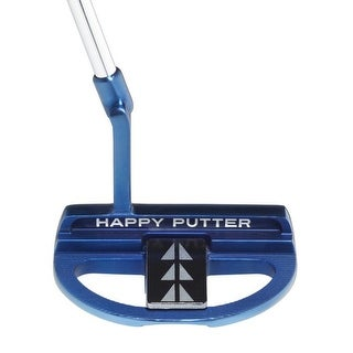 2017 Happy Putter Mallet 35 Inch Eye Align Series Adjustable Putter W/Head Cover