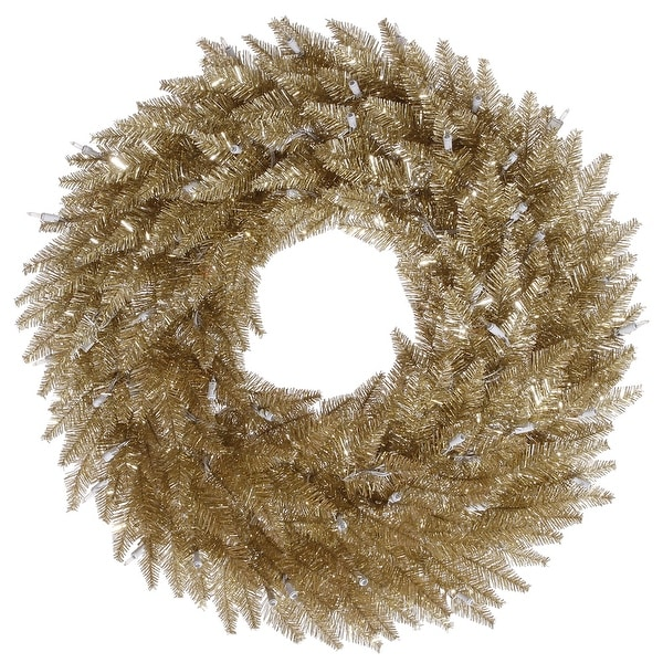"48"" Champagne Fir Wreath 480T"