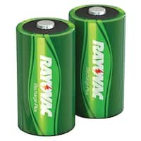 Rayovac Pl713-2 Genb Ready-To-Use Rechargeable Nimh Batteries (D; 2 Pk; 3,000Mah)