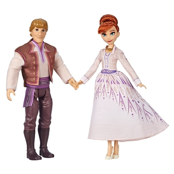 Disney Frozen Anna And Kristoff Fashion Dolls 2-Pack. Opens flyout.
