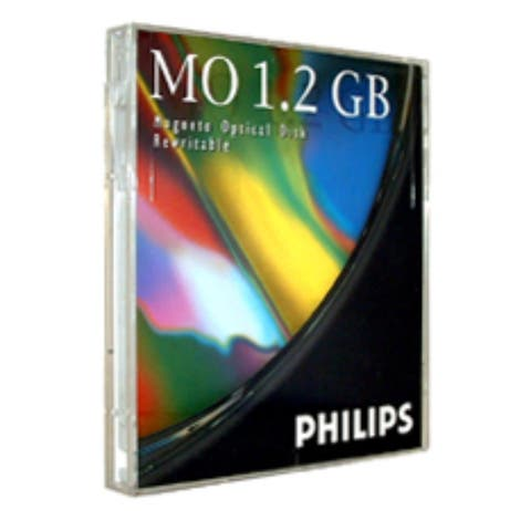 Philips R/W Magneto Optical, 5.25 in. ISO 1.2GB 512 B/S (2X)
