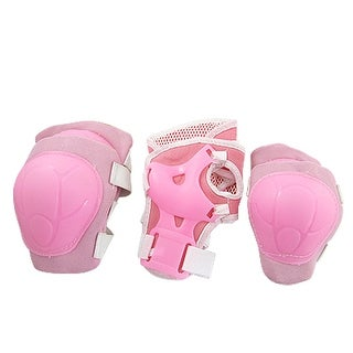 Skating Sports Gear Wrist Guard Elbow Knee Pads Set For Little Girls Kids