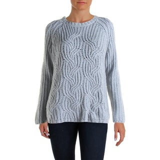 Two by Vince Camuto Womens Wool Blend Knit Pullover Sweater