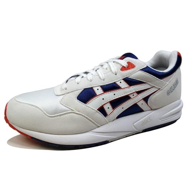 Asics Men's Gel Saga White/Royal Blue H137Y 0143