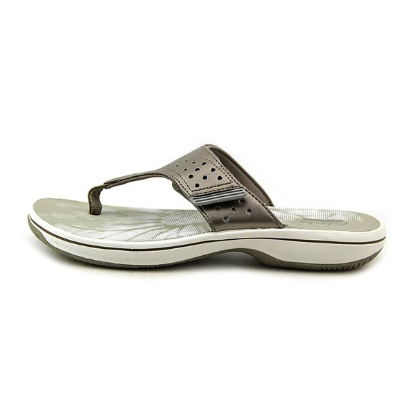 CLARKS Womens Brinkley Star Open Toe Casual Slide Sandals