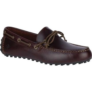 Sperry Top-Sider Men's Hamilton II 1-Eye Driving Moc Amaretto Leather