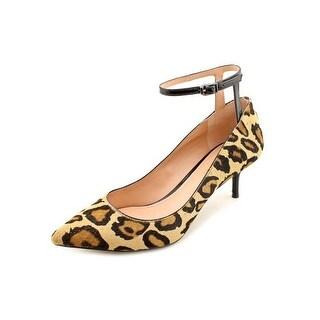 Enzo Angiolini Galata Ankle Strap Pump Heels - Natural Multi Black