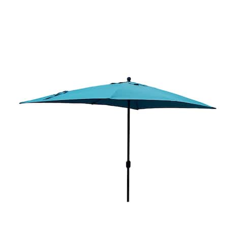 10'x6.5' Rectangle Market patio Umbrella 7 Colors