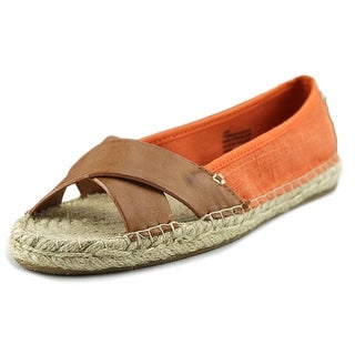 Tommy Bahama Veranda Open-Toe Canvas Flats