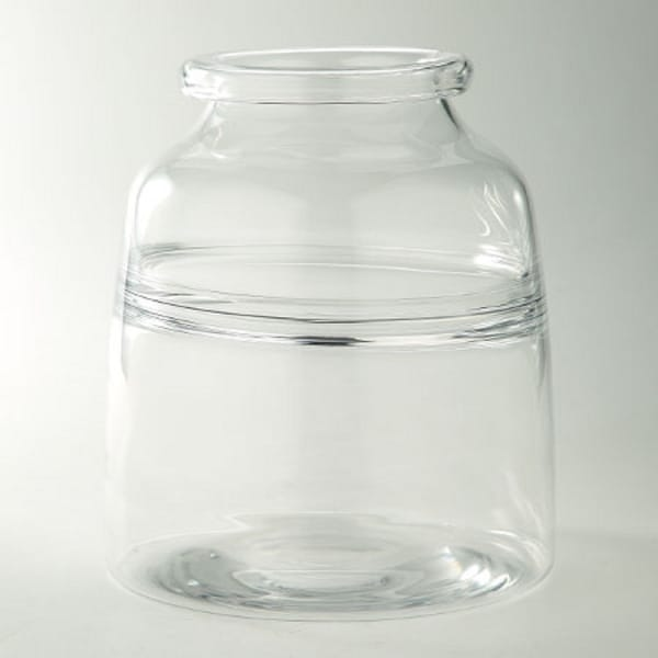 """10.5"""" Clear Candy Container Glass Bud Vase - N/A"""