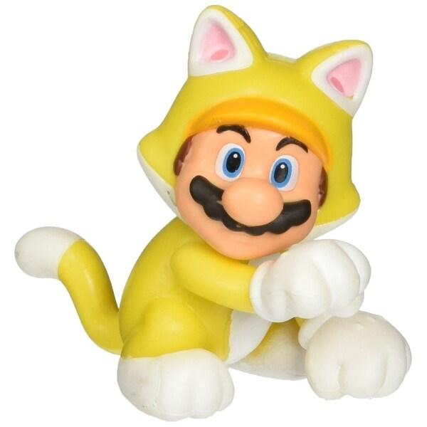 """Super Mario Bros 2.5"""" Mini Figure Wave 7 Cat Mario"""