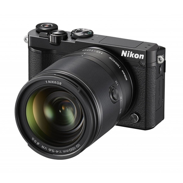 Nikon 1 J5 Mirrorless Digital Camera w/ 10-100mm Lens (Black) (International Model)