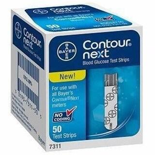 Contour Next Blood Glucose Test Strip - 50 Count