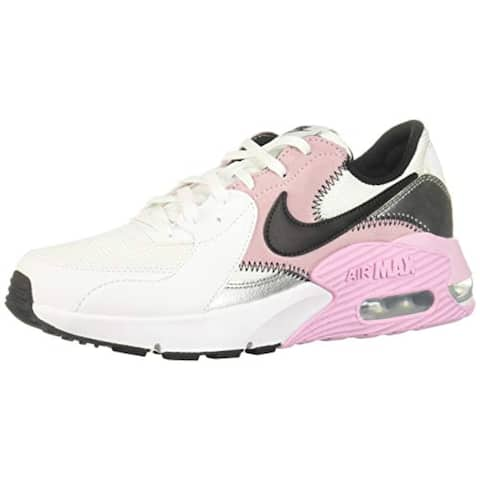 Nike Women's Air Max Excee White/Black/Light Arctic Pink (CD5432 109) - 5