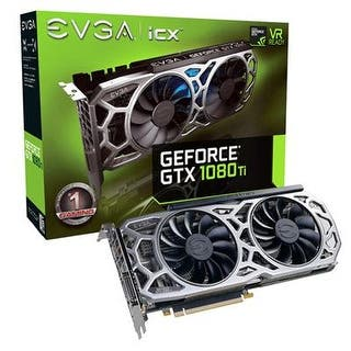 Evga Geforce Gtx 1080 Ti Sc2 Gaming, 11Gb Gddr5x, Icx Technology - 9 Thermal Sensors & Rgb Led G/P/M, Asynch Fan, Optimi|https://ak1.ostkcdn.com/images/products/is/images/direct/385913db61cd927be8f32eb5a4620bebae6b95d0/Evga-Geforce-Gtx-1080-Ti-Sc2-Gaming%2C-11Gb-Gddr5x%2C-Icx-Technology---9-Thermal-Sensors-%26-Rgb-Led-G-P-M%2C-Asynch-Fan%2C-Optimi.jpg?impolicy=medium