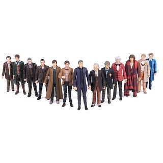 "Doctor Who 5.5"" 13 Doctor Action Figure Set - multi"