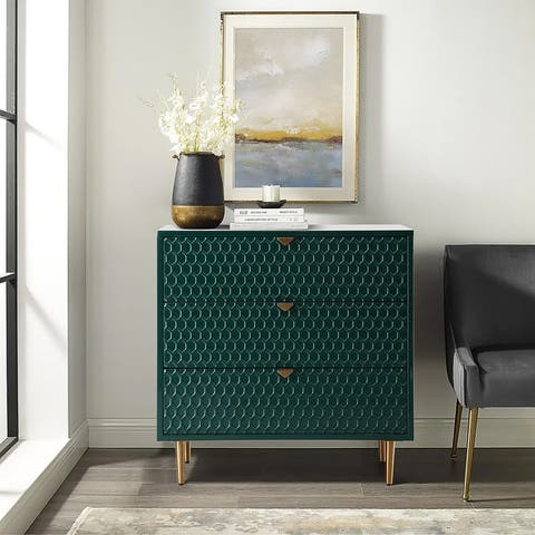 Fully-Assembly 3 Drawer Accent Chest