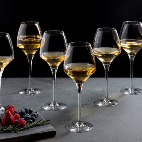 Chef & Sommelier 13.5 Ounce Open Up Universal Stemmed Wine Glass, Set of 6 - 13.5 Ounce