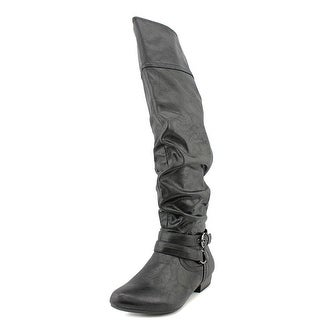 White Mountain Freehand Pointed Toe Synthetic Over the Knee Boot