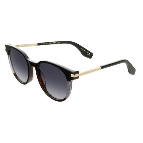 Marc Jacobs MARC294S 86 Dark Havana Round Sunglasses - 52-19-150