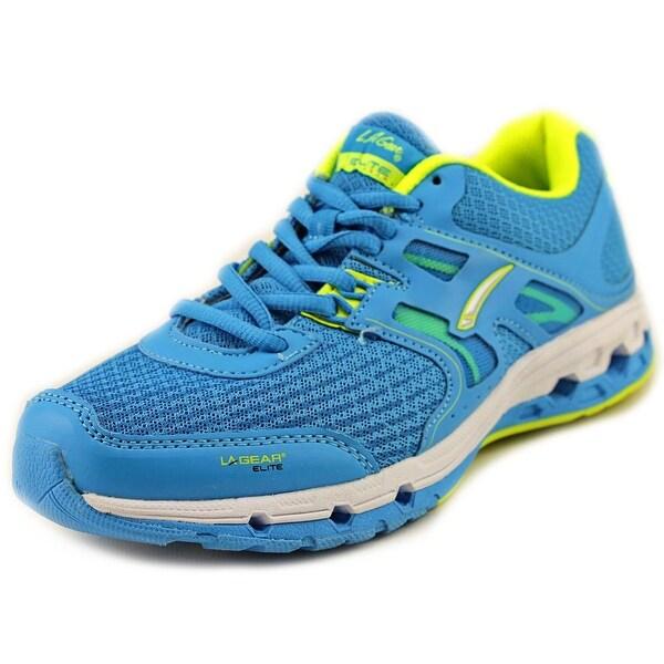La Gear Sprint Women Round Toe Synthetic Blue Sneakers