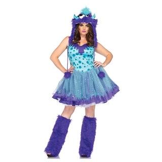 Plus Size Polka Dotty Monster Costume
