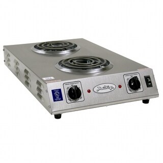 BroilKing CDR-1TFBB Double Space Saver Hot Plate