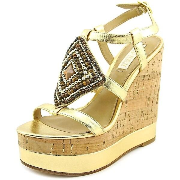 LAUREN by Ralph Lauren Womens Mattie Open Toe Casual Platform Sandals