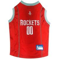 Houston Rockets Pet Jersey - Small
