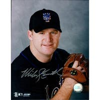 Signed Stanton Mike New York Mets 8x10 Photo autographed